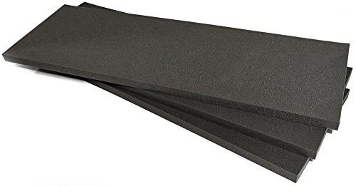 EcoBox 2-Inch Polyurethane Medium Density Foam (E-1082-3) by EcoBox