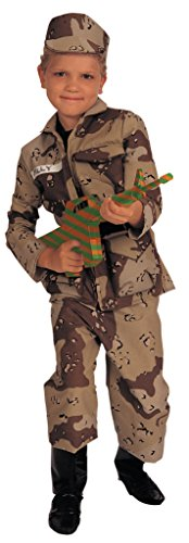 [Rubies Young Heroes Deluxe Child Special Forces Costume - Medium (8-10)] (Army Men Halloween Costumes)