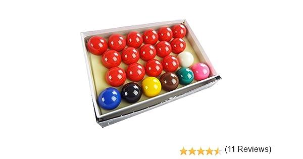 Juego de Bolas de Billar de 5 cm con 22 Bolas de Billar: Amazon.es ...