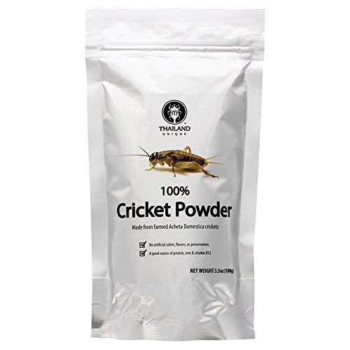 Cricket powder made of