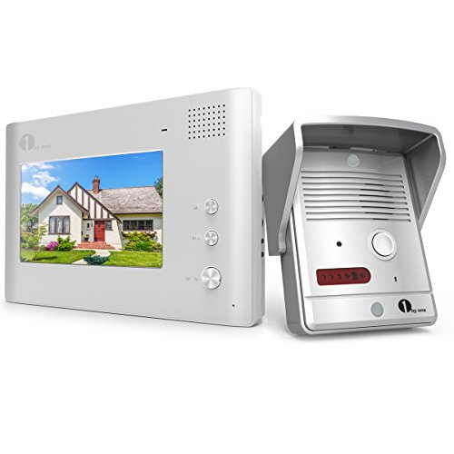 1byone Video Doorphone 2-Wires Video Intercom System 7-in...