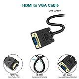 HDMI to VGA, Benfei Gold-Plated HDMI to VGA 6