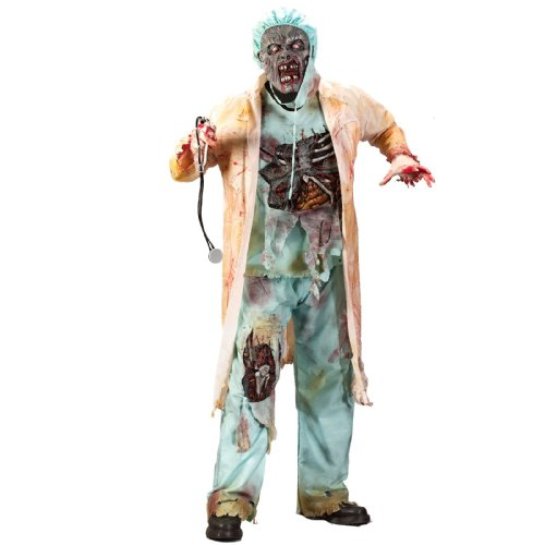 Zombie Doctor Teen Costume - Teen -