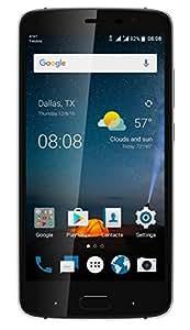 "ZTE Blade V8 Pro (32GB) 5.5"" FHD Display, Dual 13MP Camera's, Dual SIM 4G LTE GSM Factory Unlocked Phone (US Warranty) - Black Diamond"