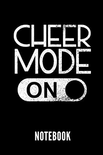 CHEER MODE ON NOTEBOOK: Geschenkidee für Cheerleader | Notizbuch mit 110 linierten Seiten | Format 6x9 DIN A5 | Soft cover matt | Klick auf den Autorennamen für mehr zu diesem Thema por Cheerleading Publishing