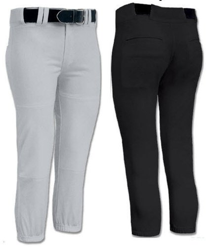 Joe's USA Girls-Women's Low Rise Fastpitch Softball Pants