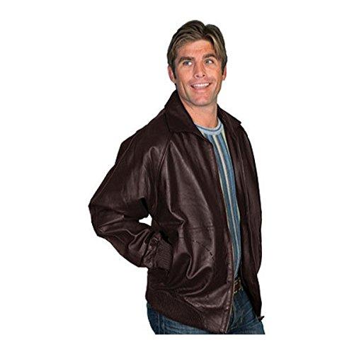 [スカーリー] メンズ ジャケット&ブルゾン Zip Front Lamb Jacket 243 [並行輸入品] B07DJ1K6JH XXXX-Large