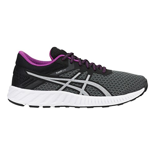 ASICS Women's Fuzex Lyte 2 Running Shoe Carbon/Silver/Black