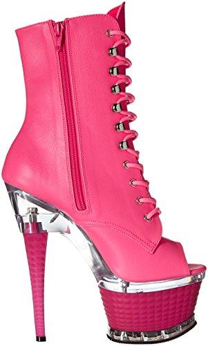 Pink Neon h H Illusion Le Pleaser 1021 Matte Faux qBwROI