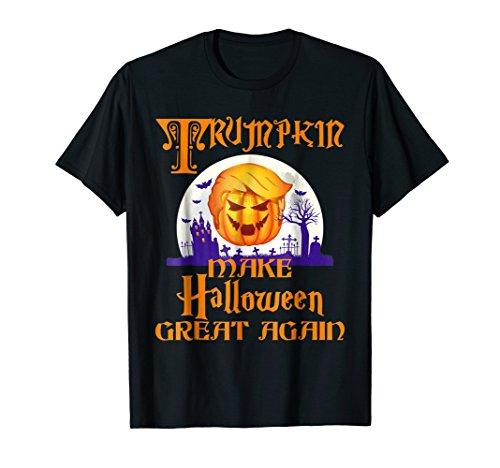 Funny Trumpkin Halloween Costume New York City T-Shirt -