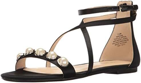 Nine West Women's Dane Satin Dress Sandal