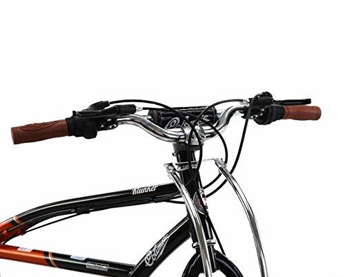 Spratly Brands 27.5 Columbia Klunker Mountain Bike - Black/Red/Brown by Spratly Brands (Image #4)