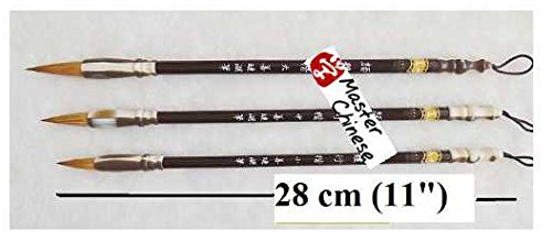 MasterChinese-Fine-Small-Chinese-Calligraphy-Brush-Set-For-Medium-Small-Script-Wolf