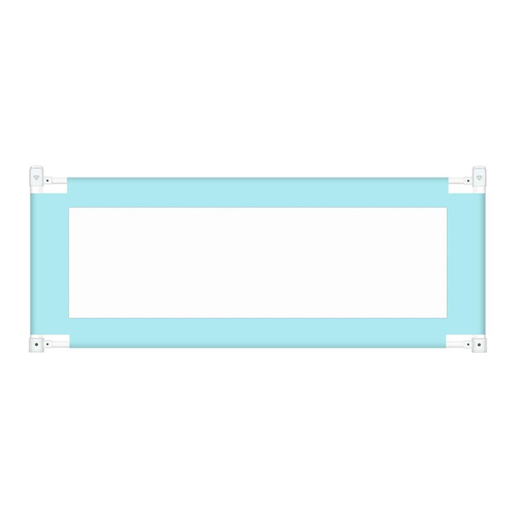 ベッドフェンス- ベビーベッドレール、幼児用垂直リフトチャイルド折りたたみメッシュレール、青のための安全保護ガード (サイズ さいず : 180cm) 180cm  B07K7LT5YT