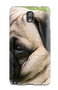Perfect Pug Dog Case Cover Skin For Galaxy Note 3 Phone Case