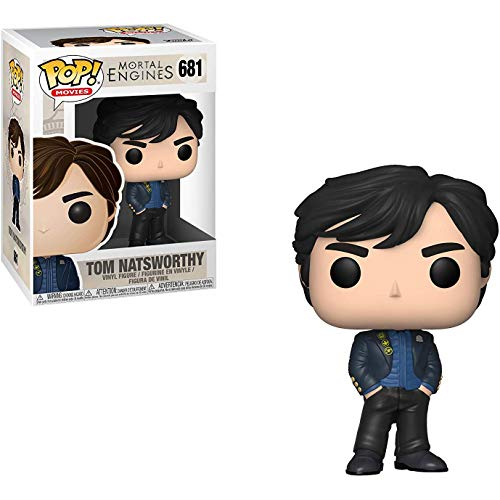Funko Tom Natsworthy: Mortal Engines x POP! Movies Vinyl Figure & 1 PET Plastic Graphical Protector Bundle [#681 / 34674 - B]]()
