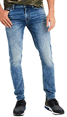 American Eagle Mens 4675764 Ne(X) t Level Skinny Jean, Acid Wash (30x30)