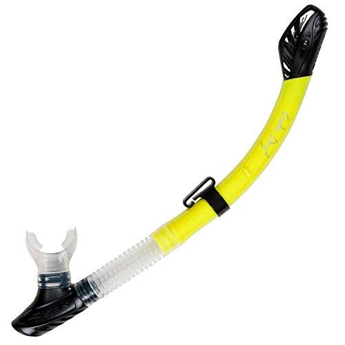 AERIS Cuda Dry 2 Snorkel, Mini, Yellow