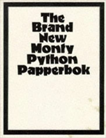 Book The Brand New Monty Python Papperbok by No Author Credited (1992-08-01)