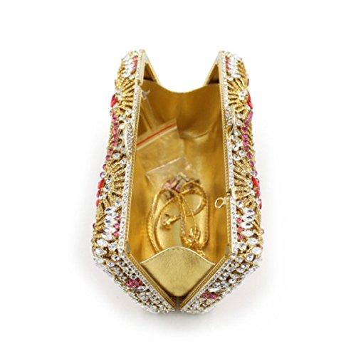 Onecolor Sac Main Cristal De En Sac Diamant à En Luxe à En Diamant Diamant Main De RZgwR4qn
