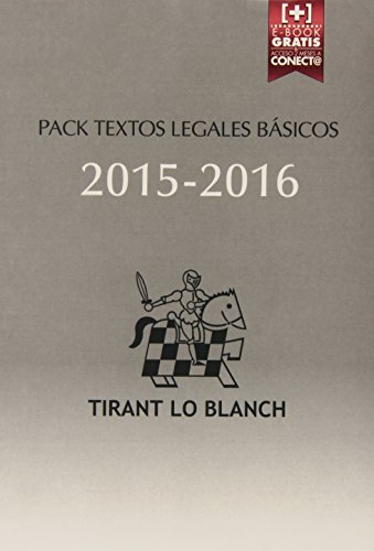Descargar Libro Pack Textos Legales Básicos 2015-2016 Juan Montero Aroca