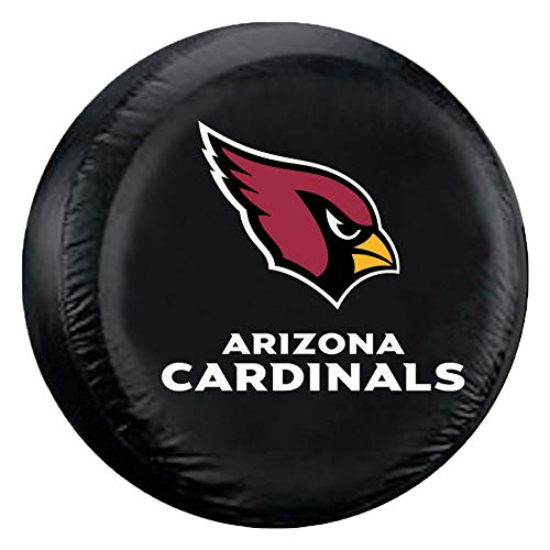 Fremont Die NFL Arizona Cardinals Unisex Tire Coverarizona Cardinals Tire Cover Black, Standard Size
