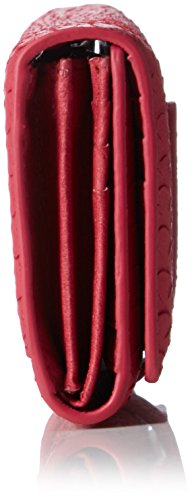 Liebeskind Berlin Damen Leonier Geldbörsen, 19x11x2 cm Rot (Cherry Blossom Red 3532)