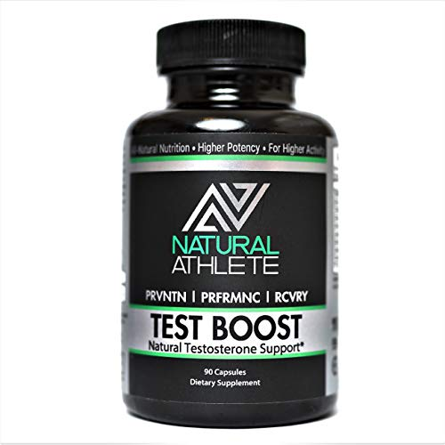 Natural Testosterone Booster for Men (90 Pills) | Increase Strength, Stamina, Lean Muscle Growth | Horny Goat Weed, Tribulus Terrestris (Best Steroid For Strength And Endurance)