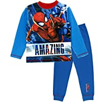 Boys Marvel Spiderman Long Pajamas Amazing
