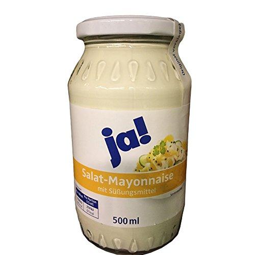 ja! Salat Mayonnaise (500ml Glas)