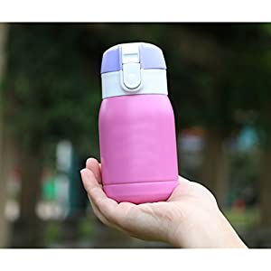 Ospard Thermos Vacuum Insulated Stainless Water Bottle 6 Ounce Red by Ospard