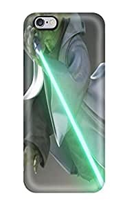 For Iphone 6 Plus Tpu Phone Case Cover(soulcalibur Iv Star War Yoda Jedi S Lightsaber Sword)