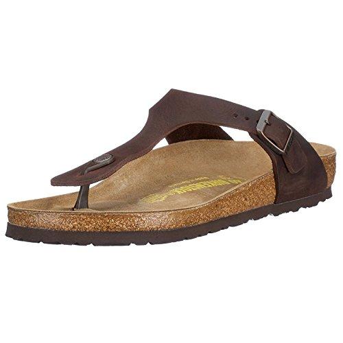 Birkenstock Women's GIzeh Thong Sandal, Habana, 39 M EU/8-8.5 B(M) US