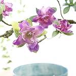 Memoirs-1-Branch-90-cm-Artificial-Flower-Azalea-Fake-Flower-Decoration-Foaming-Branch-Soft-Shape-Decorative-Flower-Rhododendronred