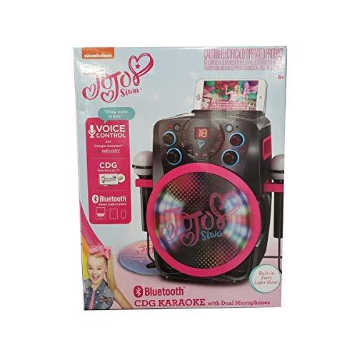 Nickelodeon JoJo Siwa CDG Bluetooth Karaoke with Dual Microphones