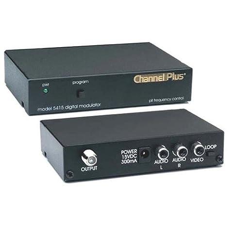 Digital Modulator Single Source Channel RF Modulator 25 dB Frequency Agile Loop Thru 1 Channel Push Button Signal Modulator CATV Channels 65 - 125 Off-Air DTV UHF Channels 14 - - Rf Modulators Single Channel