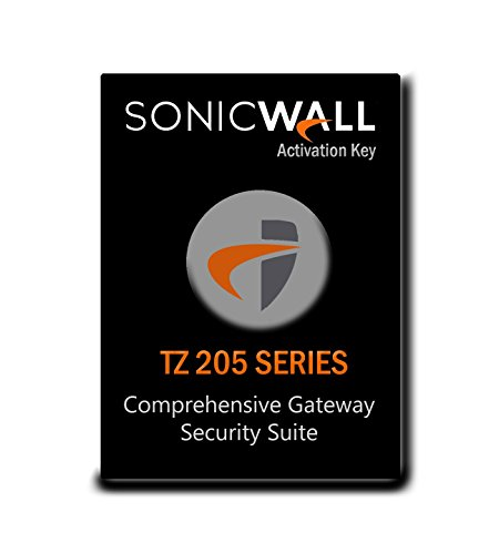 SonicWall | 01-SSC-4838 | COMPREHENSIVE GATEWAY SECURITY SUITE BUNDLE FOR THE TZ 205 SERIES (1 YR)