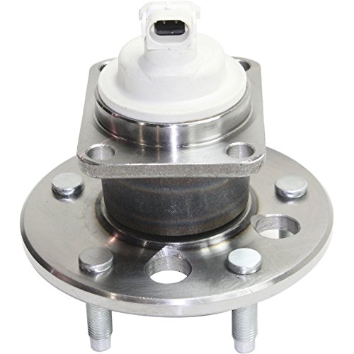 Wheel Hub and Bearing compatible with 97-2003 Buick Century Rear Left or Right FWD With ABS Sensor Wheel Studs