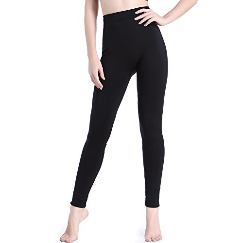 Septree Women's High Waist Activewear Sport Ankle Legging Running Yoga Pants (L/XL, Without Printing)