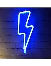 لافتات نيون لولبية ولامعة، إضاءة LED