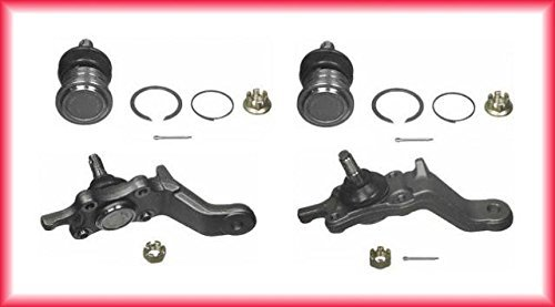 Mac Auto Parts 21882 Toyota 4 Runner (4) Ball Joints Lower & Upper Ball Joint Joints