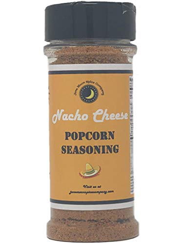 Premium | NACHO CHEESE Popcorn Seasoning | Large Shaker | Crafted in Small Batches with Farm Fresh SPICES for Premium Flavor and Zest (The Best Nacho Cheese Recipe)