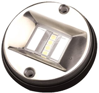 Dog Sea Line Stainless Steel (Sea Dog Line Stainless Steel LED ROUND TRANSOM LIGHT)