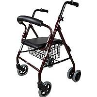 Mobiclinic, Modelo Prado, Andador para minusválidos, ancianos, Rollator