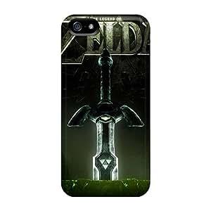 Bumper Hard Phone Covers For Apple Iphone 5/5s (BEF460ZXOk) Custom Beautiful The Legend Of Zelda Series