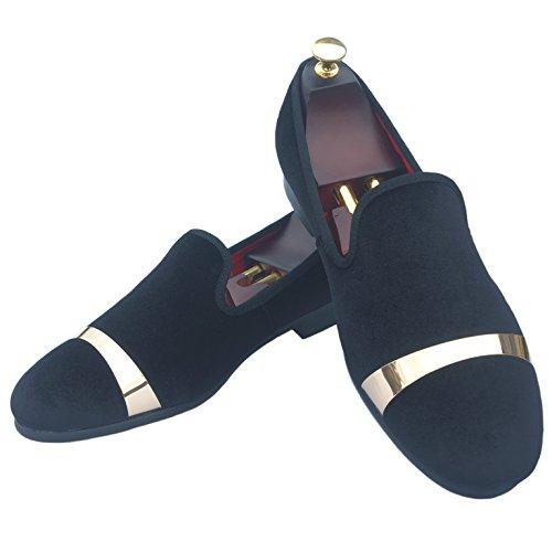 Fluwelen Jurk Justar Instappers Loafers Heren Schoenen Bruiloft bf6gyYv7