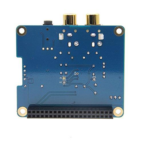 Geekworm Raspberry Pi 3 Model B+ DAC I2S Interface PiFi DIGI DAC+ HIFI Digital Audio Sound Card + DAC+ Acrylic Case for Raspberry Pi 3 Model B+ / 3B / 2B / B+ by Geekworm (Image #4)
