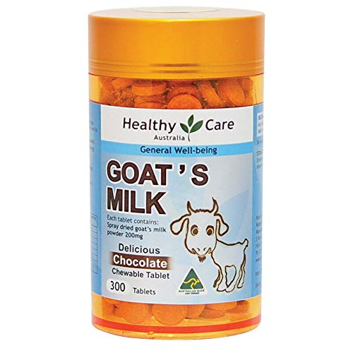 (Healthy Care Goat Milk Chocolate 300 Tablets)