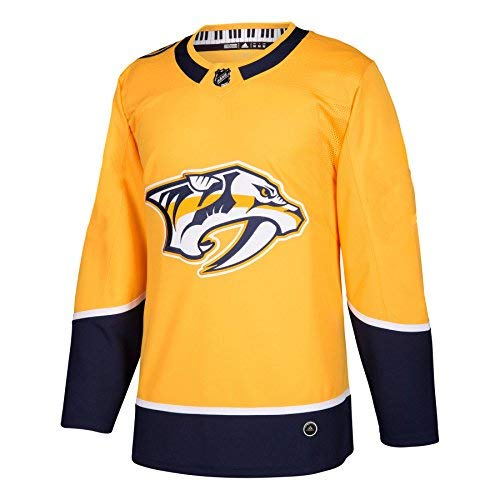 Authentic Jersey (Nashville Predators Adidas NHL Men's Climalite Authentic Team Hockey Jersey)