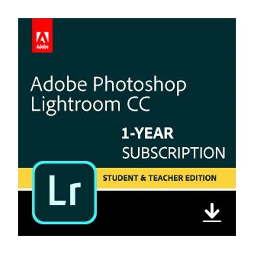 Adobe Photoshop Lightroom CC plan Student and Teacher | 1 Year Subscription...